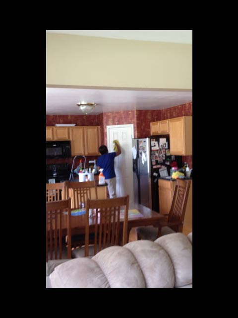 Kitchens and dining room cleaning