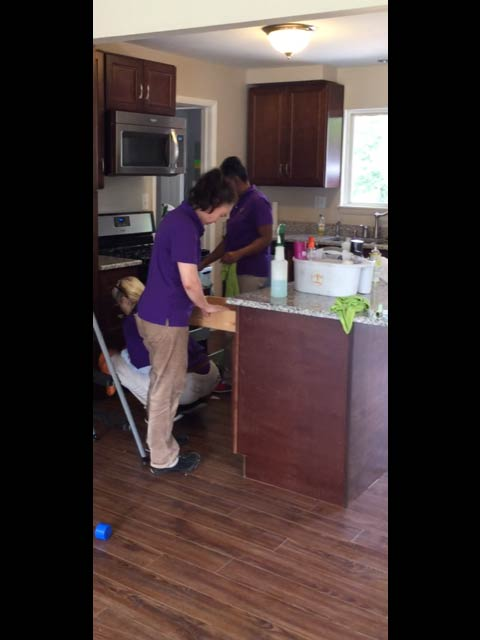 Canton home cleaning