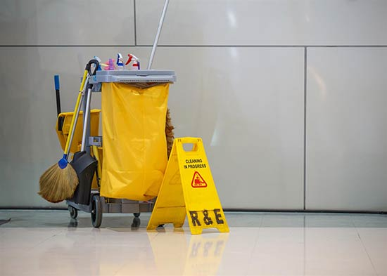 Professional janitor service in Belleville & Canton