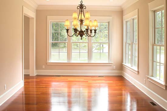 Wood floor scrubbing and laminate cleaning